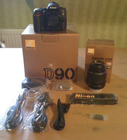 Selling Brand New Nikon D90 12MP DSLR Camera+18-135mm Lens