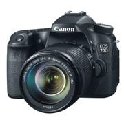Canon EOS 70D SLR Digital Camera incl EF-S 18-135mm lens black