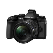 Olympus E-M1 OM-D camera system incl M.Zuiko Digital ED 12-40mm Top Pr