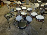 Roland TD-30KV-S V-Pro Electronic Drum Kit, NEW 5 PC YAMAHA BIRCH CUSTO